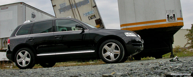 Touareg V10 TDI  Particulate Filter for the Worlds Most Powerful