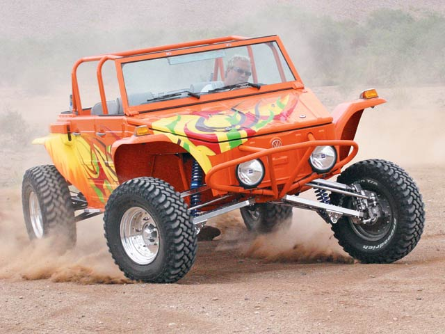 0702or 01 z+1974 volkswagen thing custom buggy+dirt action 150x150