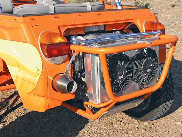 0702or_04_z+1974_volkswagen_thing_custom_buggy+rear_engine_detail
