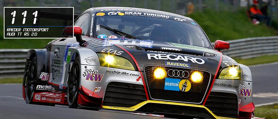 #111 Audi TT RS 2.0