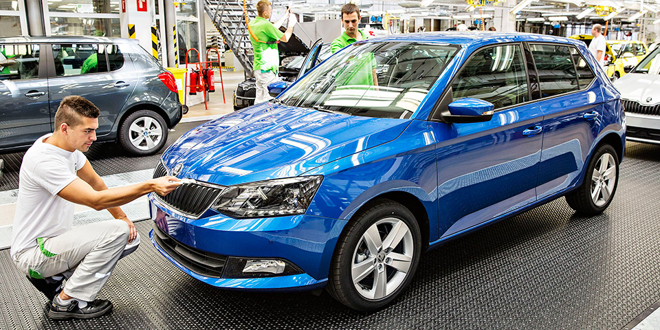 140828 New SKODA Fabia Start of Production 002 600x300