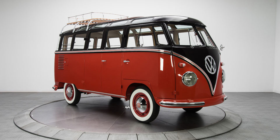 report the vw microbus to return appeal to hippies as ev