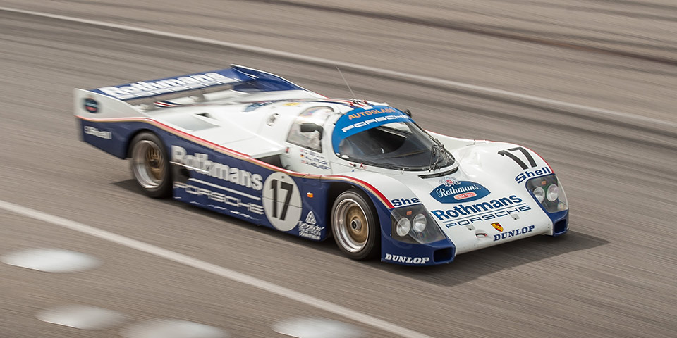1987 Le Mans winner Porsche 962C 110x60
