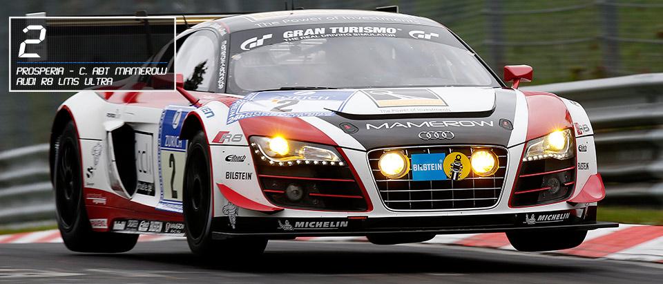 #2 Audi R8 lMS ultra