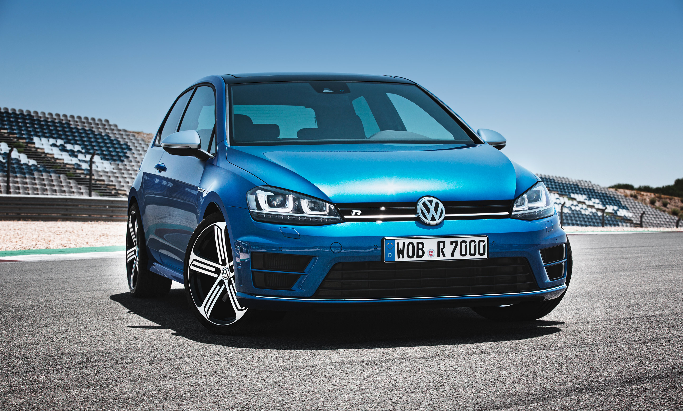 2013 Golf R Front 2
