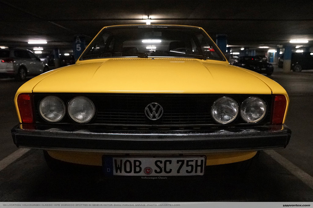 2014 Geneva motor show 1975 VW Scirocco 367 110x60