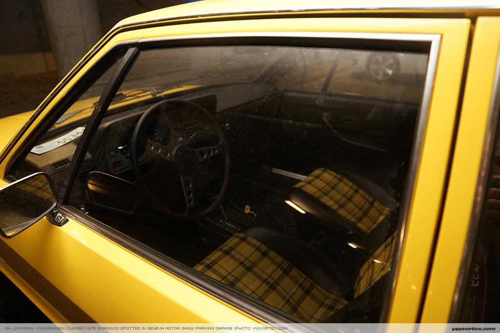 1975 VW Scirocco in Geneva