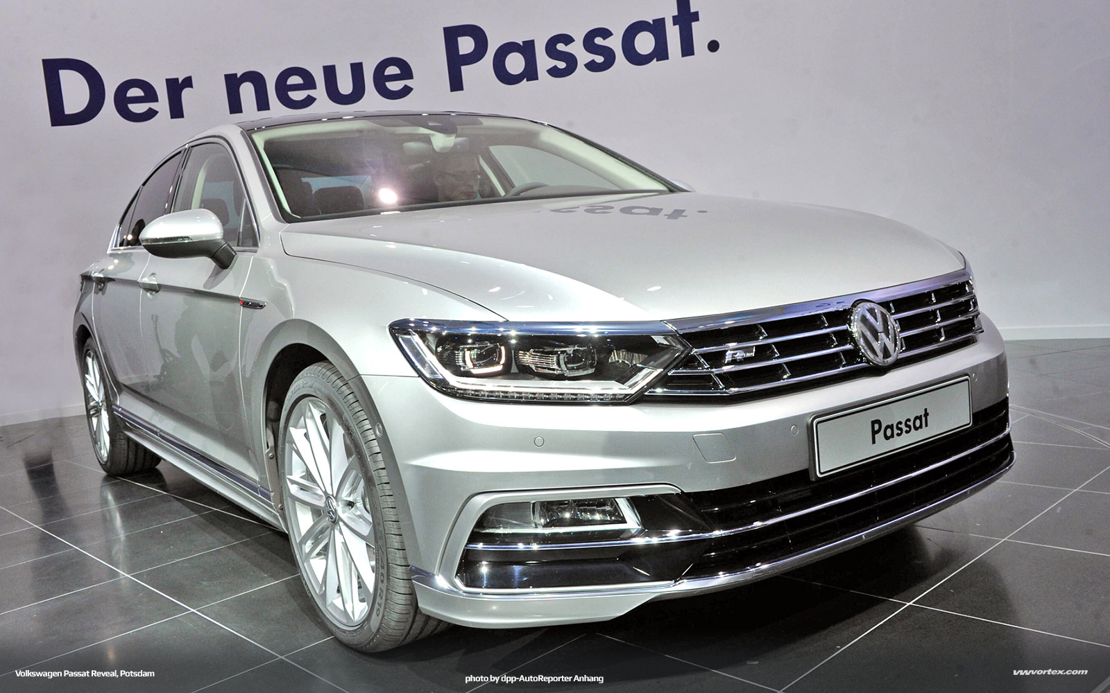 2014 Volkswagen Passat VIII MQB Reveal Potsdam 652 600x375