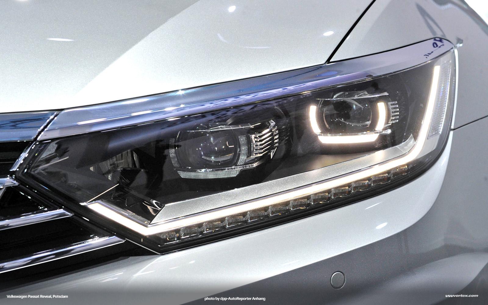 Volkswagen Passat VIII Reveal, Potsdam