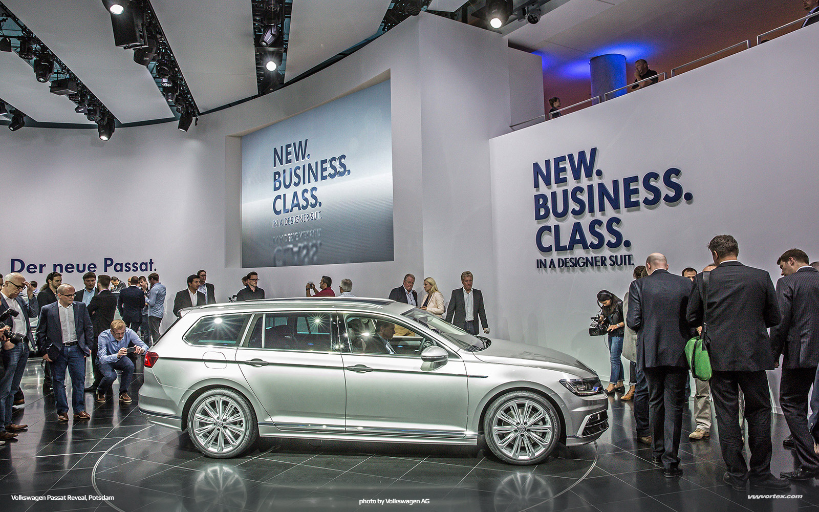 2014 Volkswagen Passat VIII MQB Reveal Potsdam 667 600x375