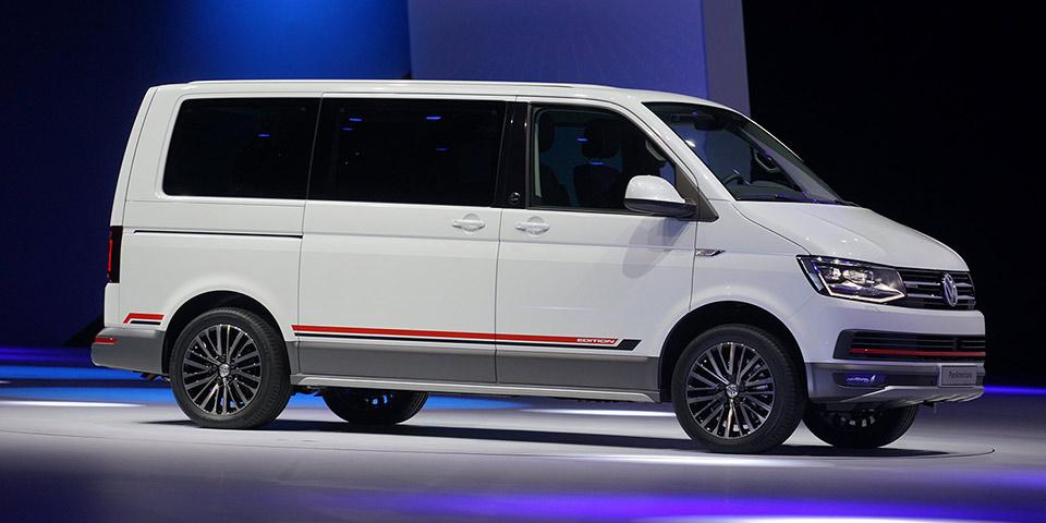 Iaa 2015 World Premiere Of The Volkswagen Multivan