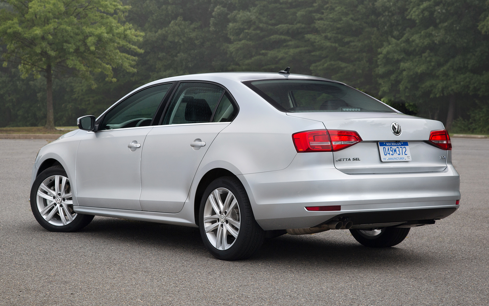 The 2015 Jetta is offered in four trim levels—Base, S, SE, and SEL