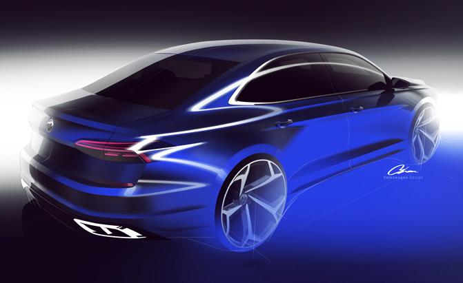 2020-Volkswagen-Passat-Sketch-02