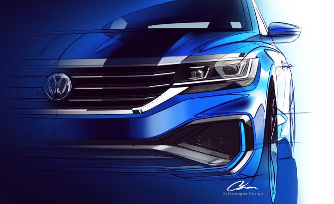 2020-Volkswagen-Passat-Sketch-03