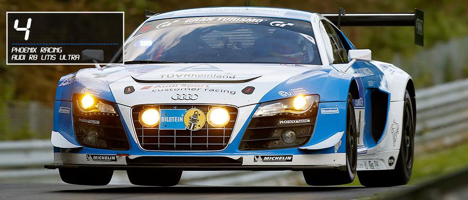 #4 Audi R8 lMS ultra