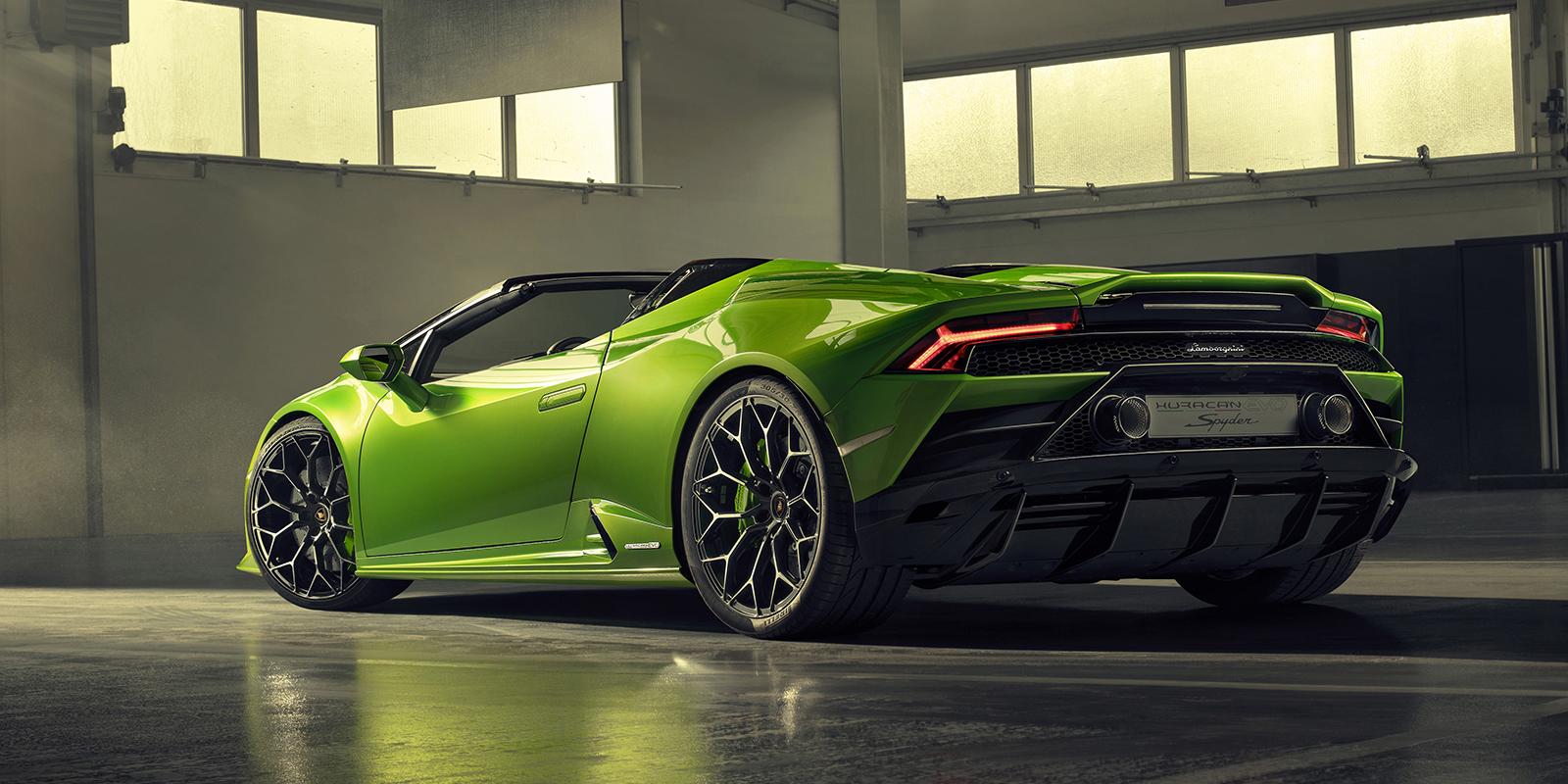 Gallery The Lamborghini Huracan Evo Spyder Is Here Vwvortex