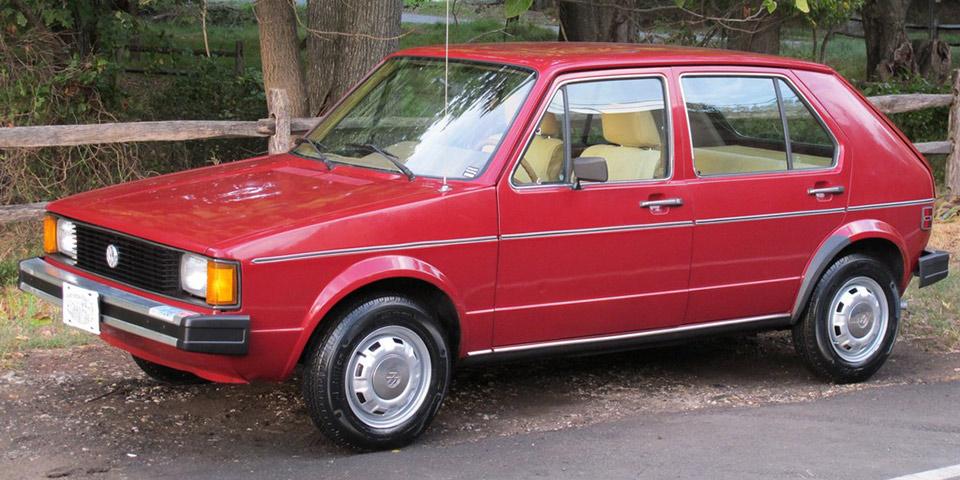 volkswagen rabbit. find of the day: 1984 volkswagen rabbit l b