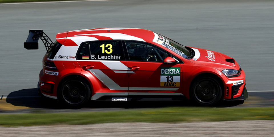 Benjamin Leuchter, Racing One, VW Golf GTI TCR, Sachsenring, 30.04.-01.05