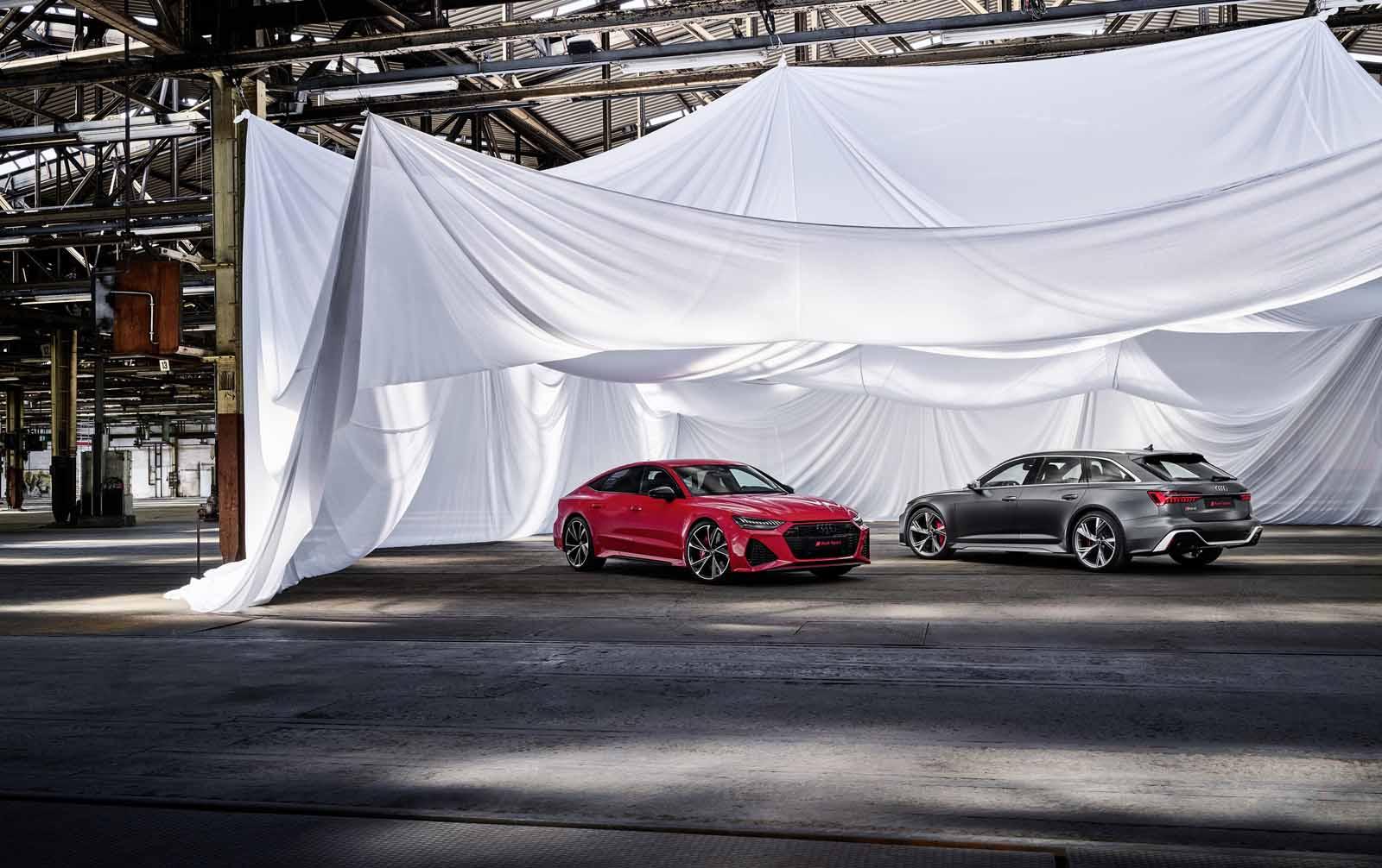 Audi RS 7 Sportback, Audi RS 6 Avant