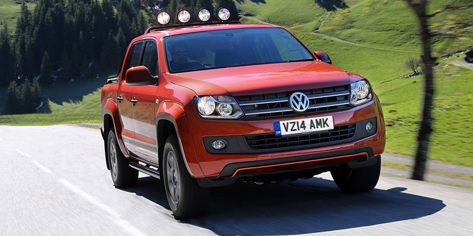 amarok volkswagen commercial UK 600x300