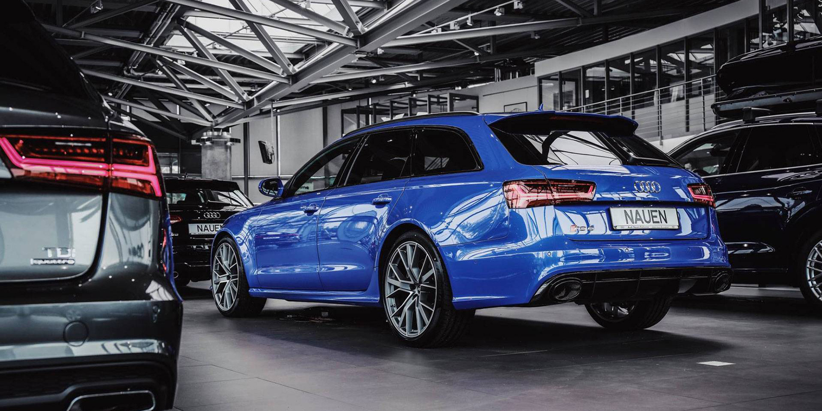 Rs6 Avant Performance Nogaro Blue Vwvortex