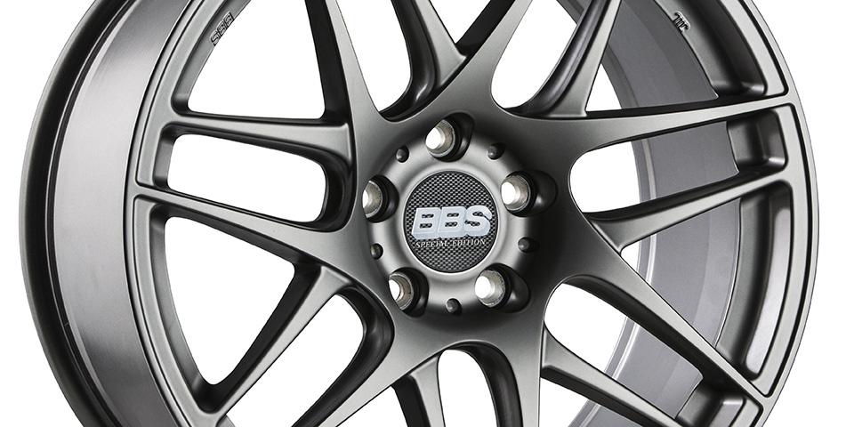 BBS CX R special edition seitlich Platinum