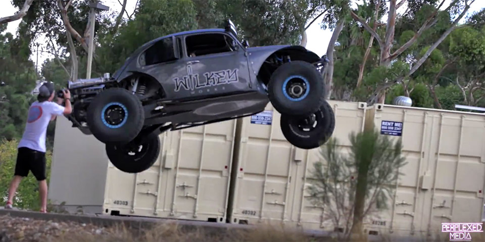 Video Beetle Bodied Dune Buggy Assaults San Diego Vwvortex