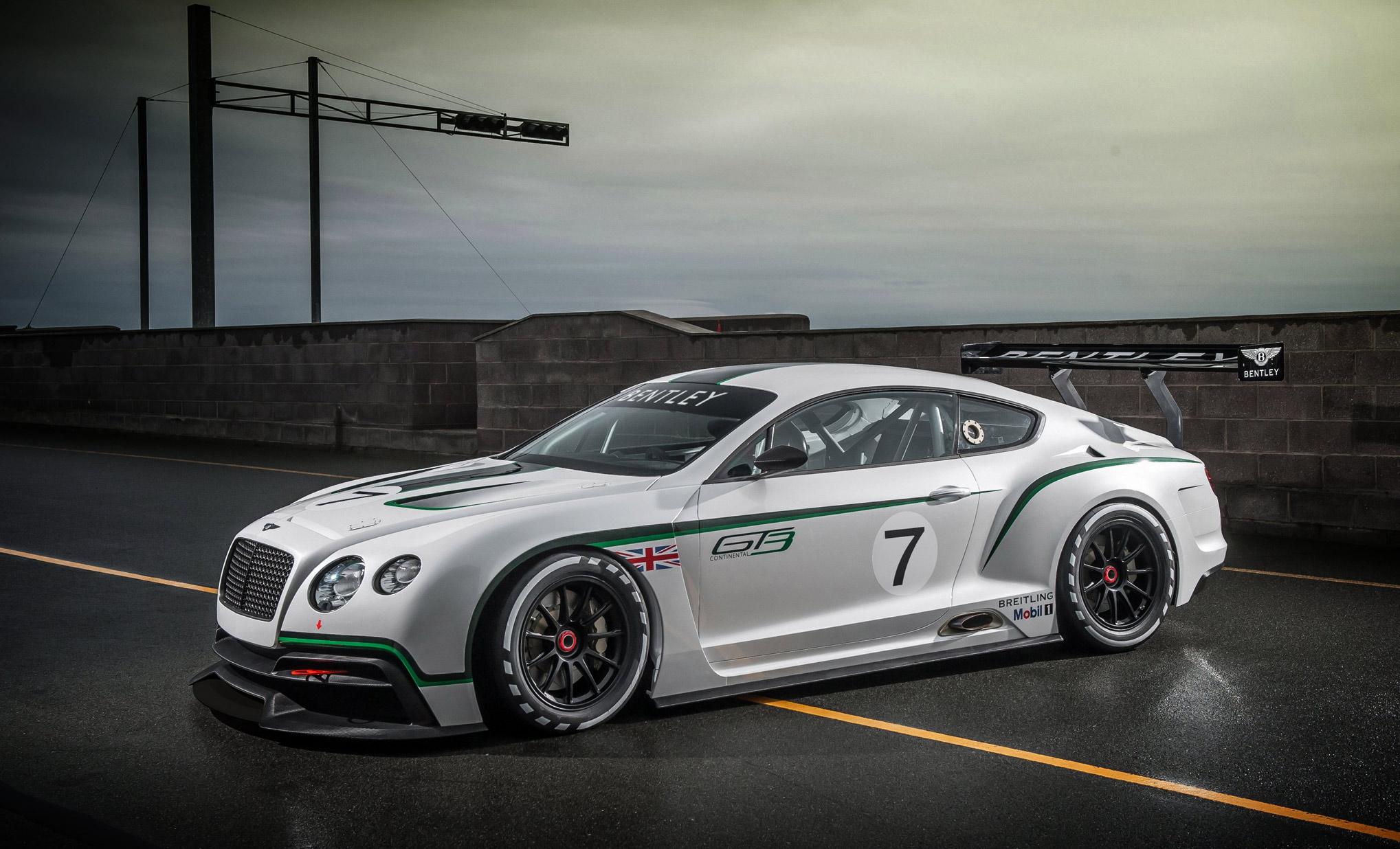 Bentley Continental GT3 Race Car - VWVortex