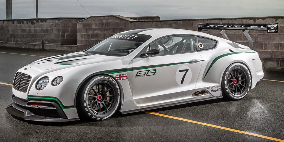 Bentley Continental GT3 Race Car 600x300