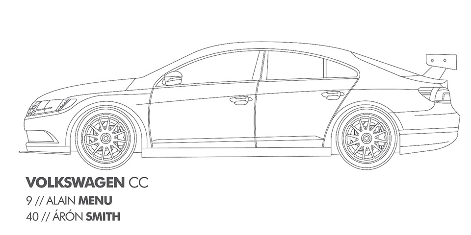 Choice Gear Volkswagen Audi BTCC Coloring Pages Presumably For