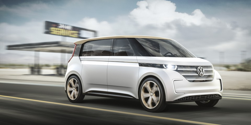 NYIAS ELECTRIC VOLKSWAGEN BUDDe CONCEPT MAKES US AUTO SHOW - Vw car show las vegas