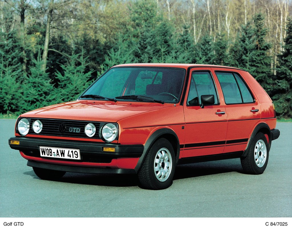 Product: Golf GTD II (1984)