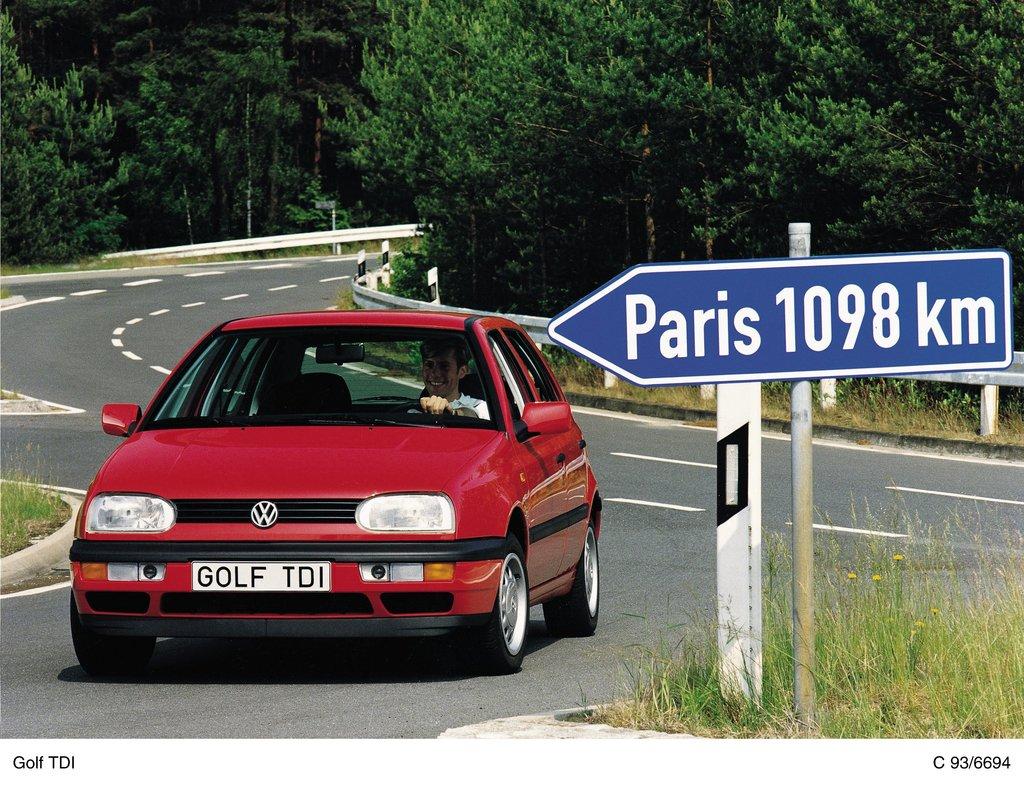 Volkswagen Golf TDI III (1993)