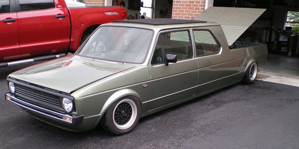 Find Of The Day 1983 Volkswagen Rabbit Truck