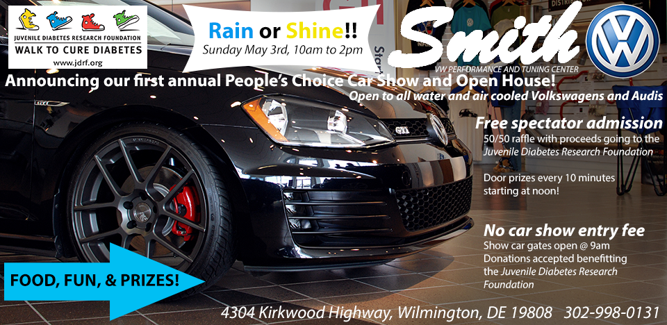 Smith Volkswagen To Hold Inaugural Car Show VWVortex - Wilmington car show