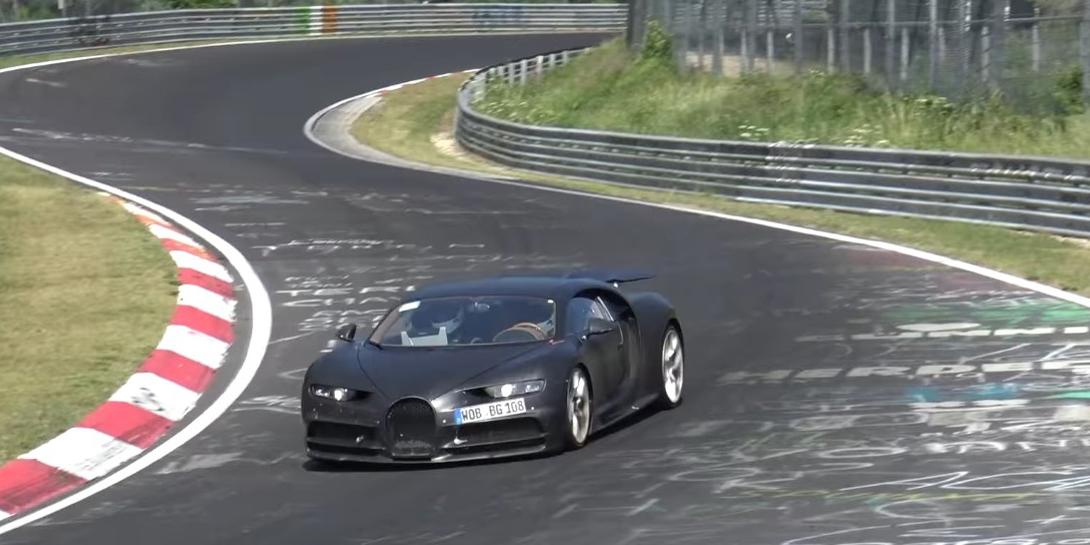 watch: bugatti chiron testing at the nurburgring - vwvortex