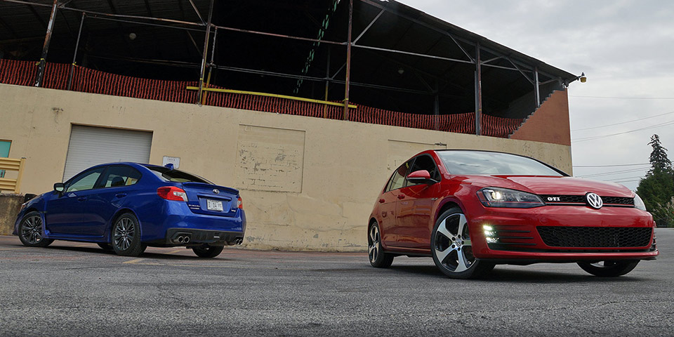 Wrx Vs Gti >> Compared 2015 Volkswagen Gti Vs 2015 Subaru Wrx Vwvortex