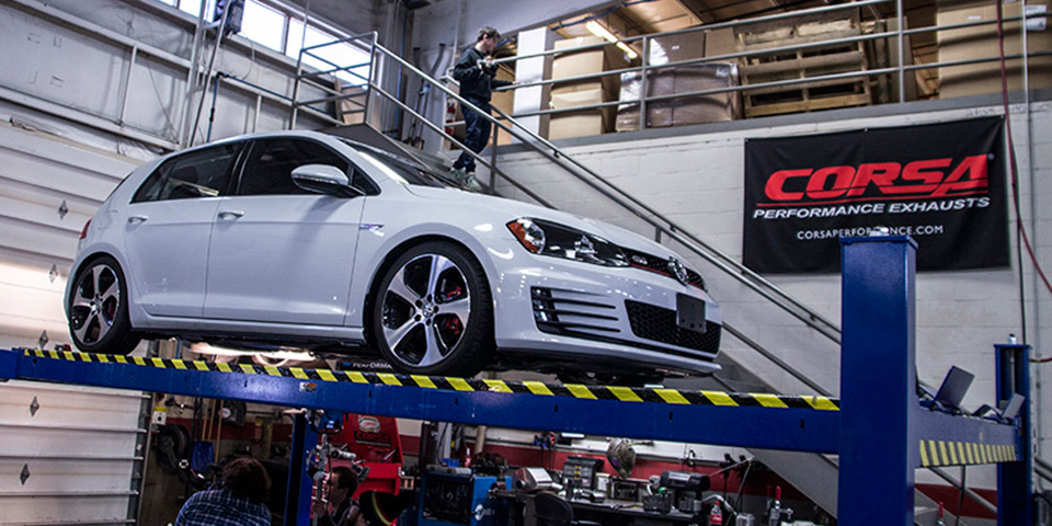 HS Tuning Exclusive: Corsa Performance Mk7 GTI Catback