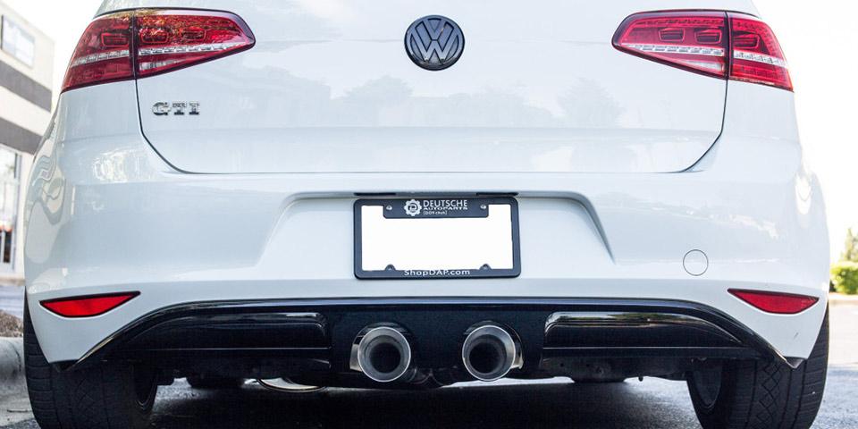 339f6847ce Deutsche Auto Parts Releases Center-Exit Exhaust for Mk7 GTI - VWVortex