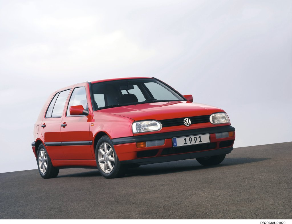 Volkswagen Golf: Third generation