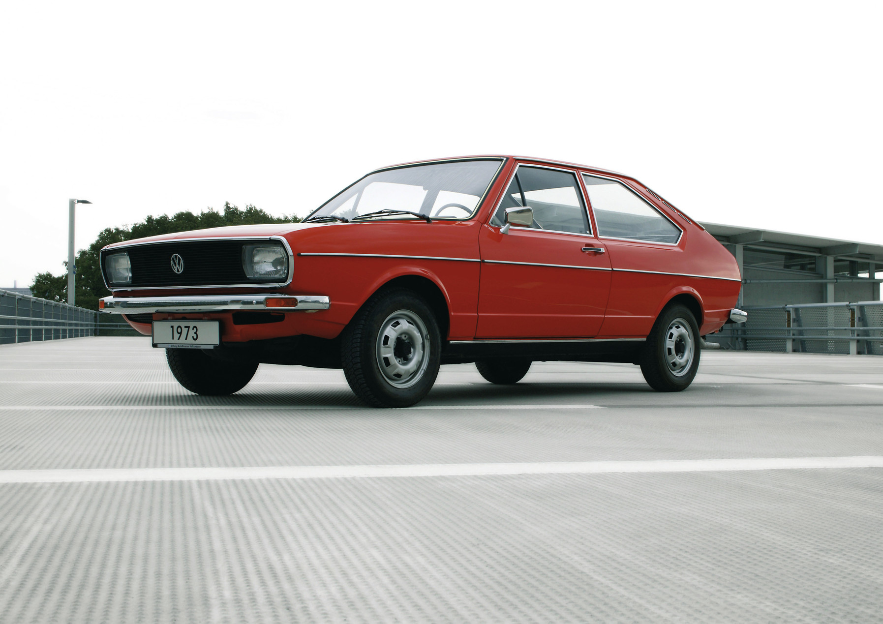 13 Million Passats: Volkswagen Passat B1, 1973