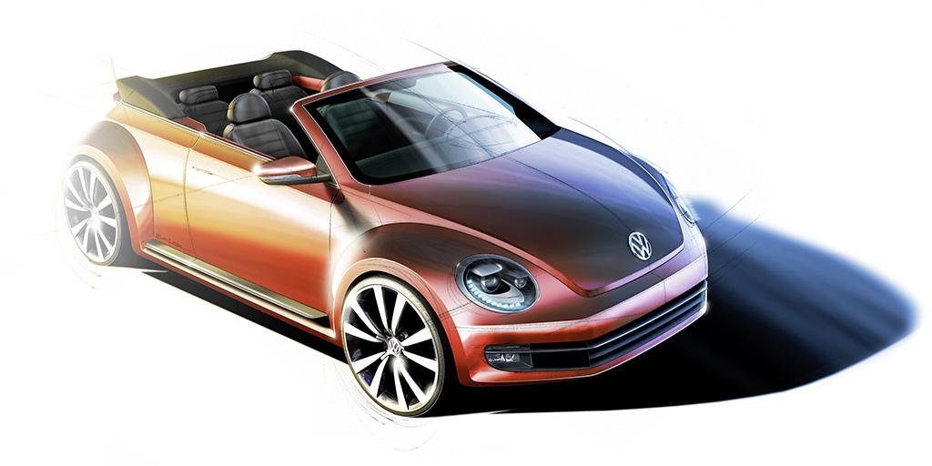Das neue Volkswagen Beetle Cabriolet