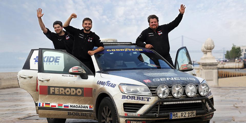 Team Zietlow: Vierte Weltrekord-Fahrt im Touareg