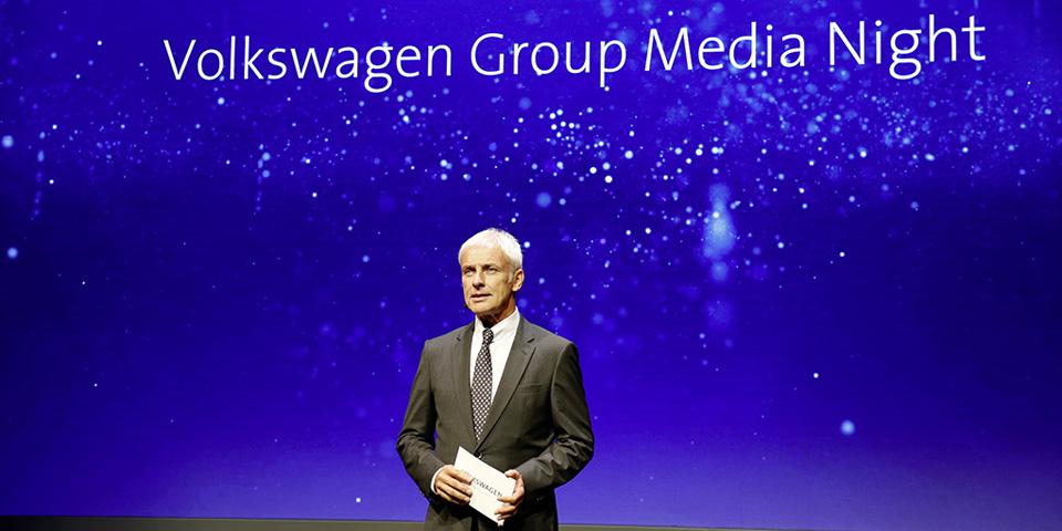 Vorabendveranstaltung des Volkswagen Konzerns zum Pariser Autosalon 2016