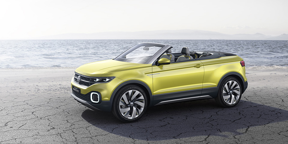 Die neue Volkswagen Studie T-Cross Breeze
