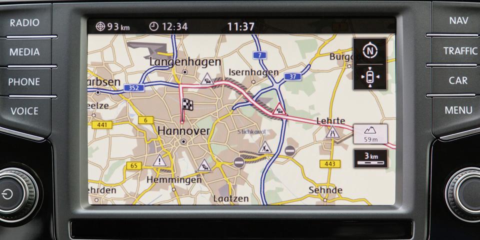 """Selbstlernende Navigation: ?Häufigste Routen"""" sorgt für weniger Stress im Alltag"""