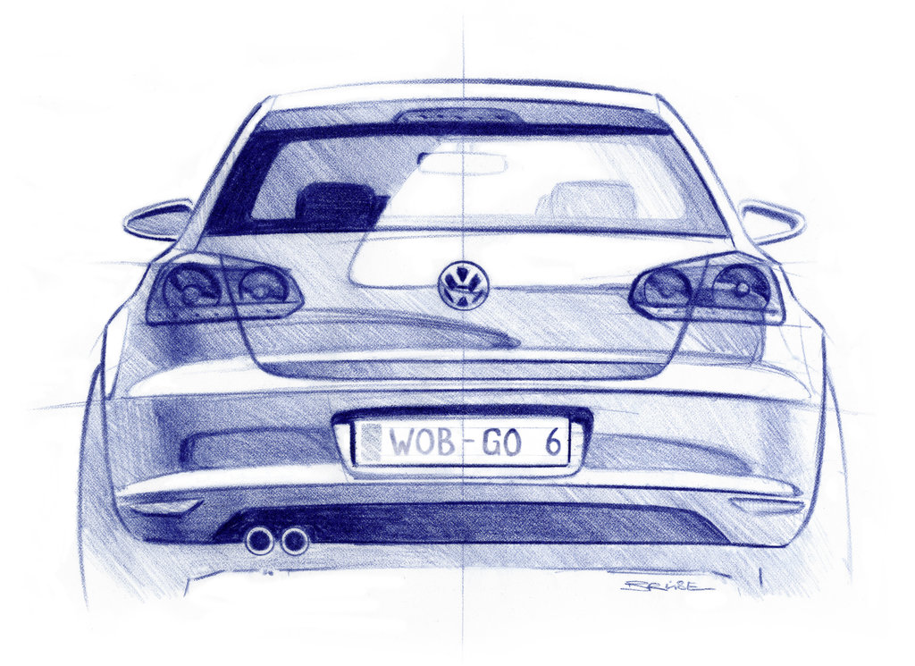 Volkswagen Golf – sixth Generation