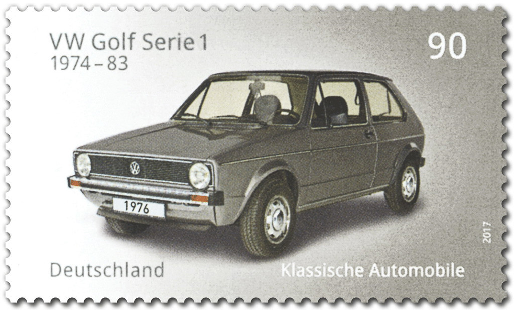 "Sondermarke ""VW Golf Serie 1"""