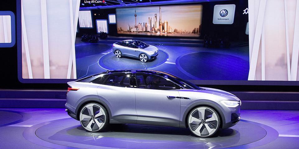 Volkswagen Pressekonferenz Auto Shanghai 2017