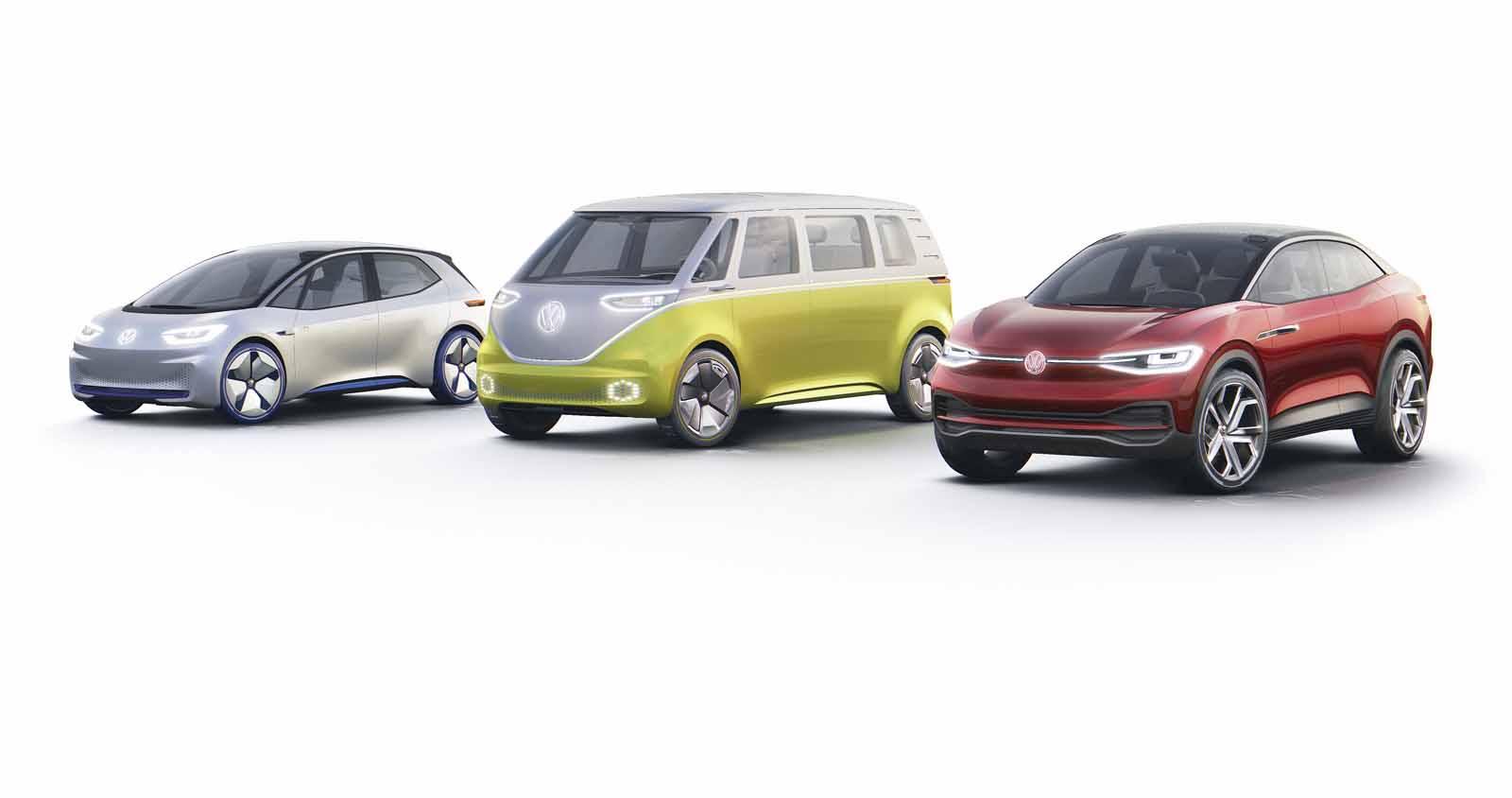 Die Volkswagen I.D. Familie